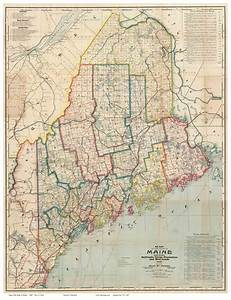 Old Maps Maine