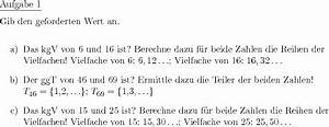 Größter Gemeinsamer Teiler Berechnen : ggt und kgv ber teiler und vielfachenliste bestimmen individuelle mathe arbeitsbl tter bei ~ Themetempest.com Abrechnung