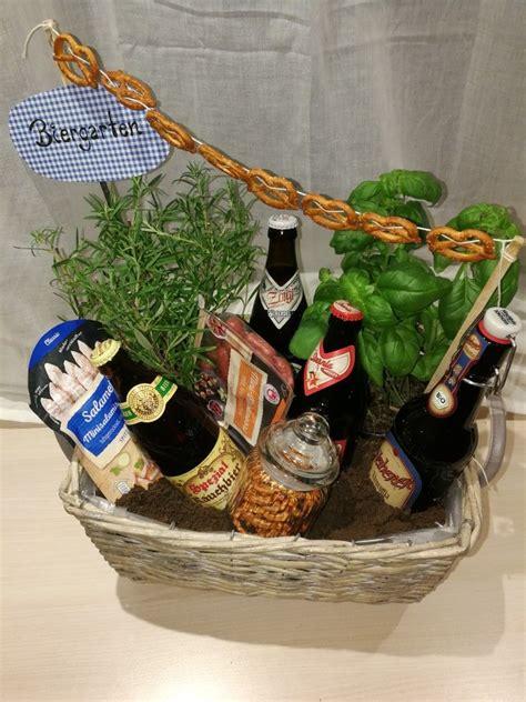 geschenk mann basteln biergarten diy geschenk f 252 r m 228 nner zum geburtstag geschenkideen diy gifts for diy