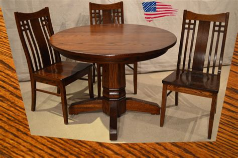 amish made oak table and chairs amish dining jasen 39 s furniture amish dining furniture