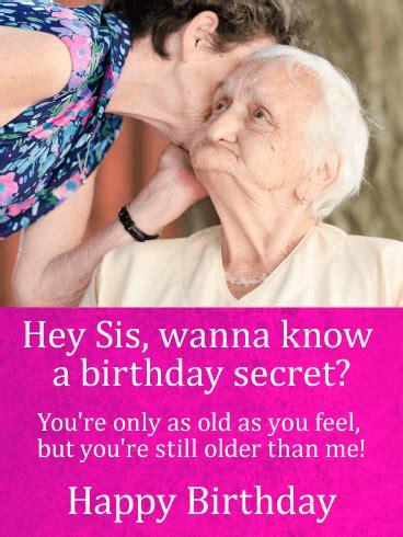 wanna   birthday secret funny birthday card