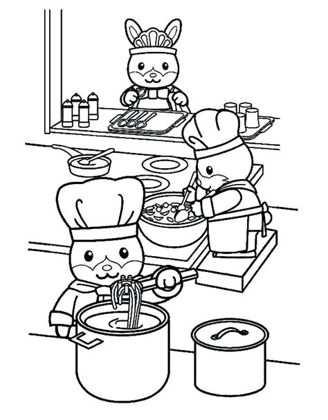Coloring Utensil by Kitchen Utensils Coloring Pages Sketch Coloring Page