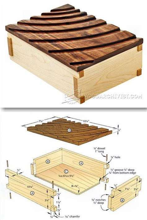 keepsake box plans woodworking plans  projects