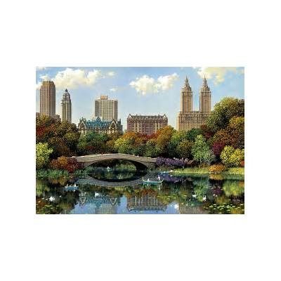 Central Park Bow Bridge Jigsaw PuzzlePuzzleWarehouse.com