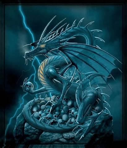 Dragon Gothic Gothique Gambar Smiley Ikon Dragons