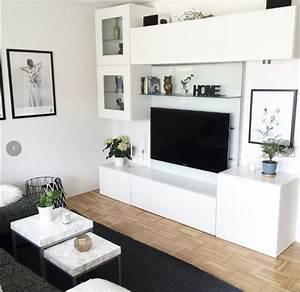 Album 4 banc tv besta ikea realisations clients for Deco cuisine pour meuble bas salon
