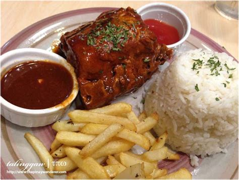 baby back ribs side dishes food trips maginhawa eat street hits and misses i the pinay wanderer