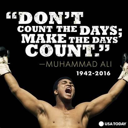 Ali Muhammad Quotes Hard Boxing Sports Am