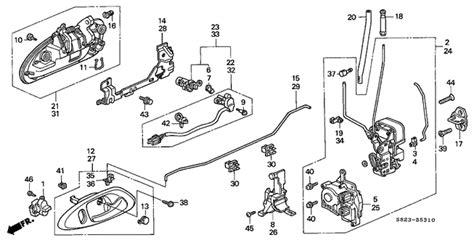 automobile air conditioning repair 2001 honda accord engine control oem 2001 honda accord coupe door lock parts hondapartsonline net