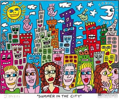 James Rizzi | Summer In The City