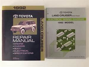1992 Toyota Fj80 Factory Service Manual  Fsm  And
