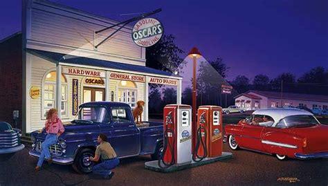 paintings   cars  trucks bruce kaiser car art