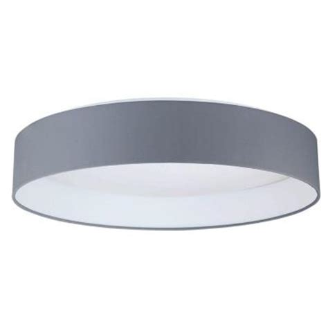 Home Depot Ceiling Lights Led by Eglo Palomaro Black Led Ceiling Light 93397a The Home Depot
