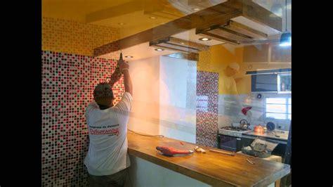 creacion de nueva cocina durlock venecitas pintura