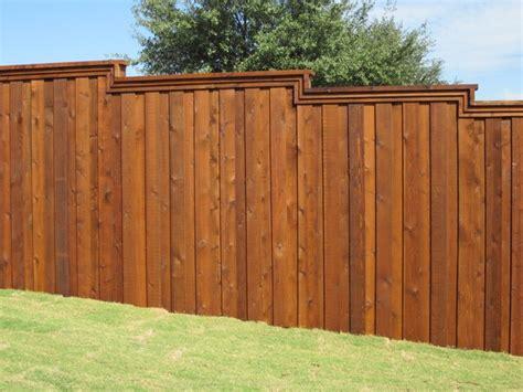 board  board cedar fence metal posts dallas  texas