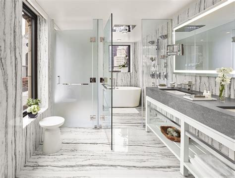 Modern Bathroom Nyc by A New New York Hotel New York Accommodations 5