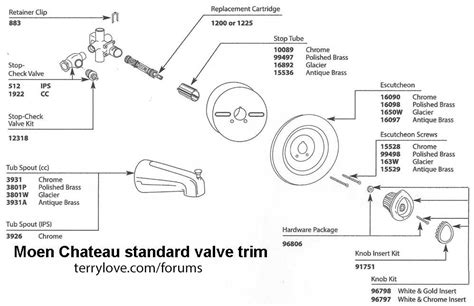 Moen Chateau Shower Valve Terry Love Plumbing