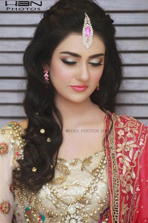 sarah khan pics  pakistani bridal makeup party