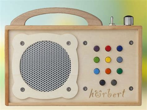All Wood MP3 Player For Kids Looks Sounds Good