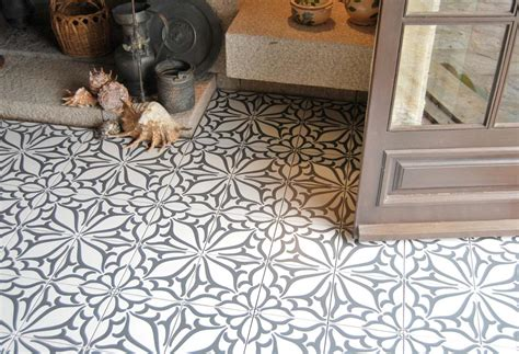 carrelage vintage cuisine carrelage aspect carreau ciment krocim decor noir