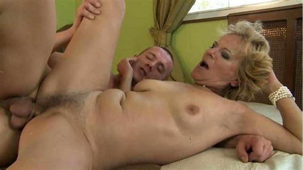 #Old #Woman #Gets #Her #Hairy #Pussy #Fucked #Deep #And #Hard