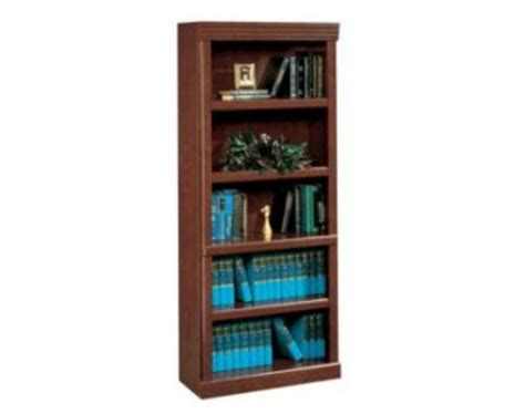 sauder heritage hill bookcase sauder heritage hill classic cherry library bookcase at
