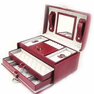 Boite A Bijoux : boite a bijoux en cuir visuel 3 ~ Teatrodelosmanantiales.com Idées de Décoration