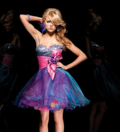cotton candy prom dress homecomingprom dresses