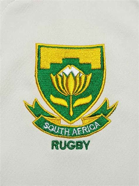 mens springbok rugby world cup replica jersey white