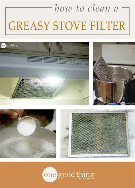 How To Clean A Greasy Stove Hood Filter   Stove, Stove