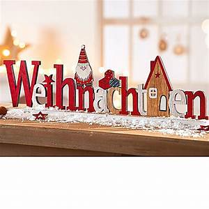 Deko Weihnachten Draußen : deko schriftzug weihnachten jetzt bei bestellen ~ Michelbontemps.com Haus und Dekorationen