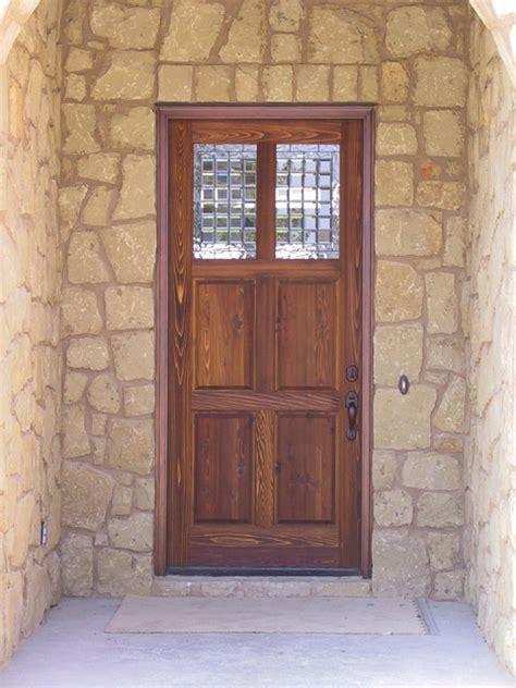 rustic doors traditional front doors austin