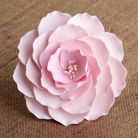 large briar roses pink gumpaste roses cake