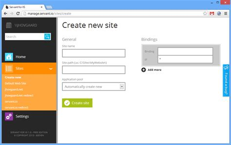 Manage Iis From The Browser
