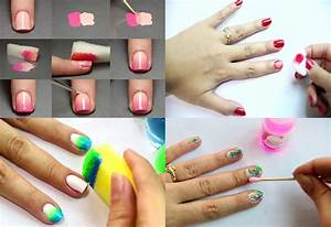 How to Do Nail Art Step by Step : 3 Easy Simple Steps