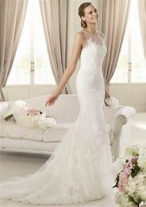 Simple lace wedding dresses 2013 fashion trends styles for Simple lace wedding dress