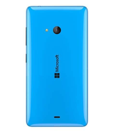 microsoft lumia 540 original back panel blue cyan