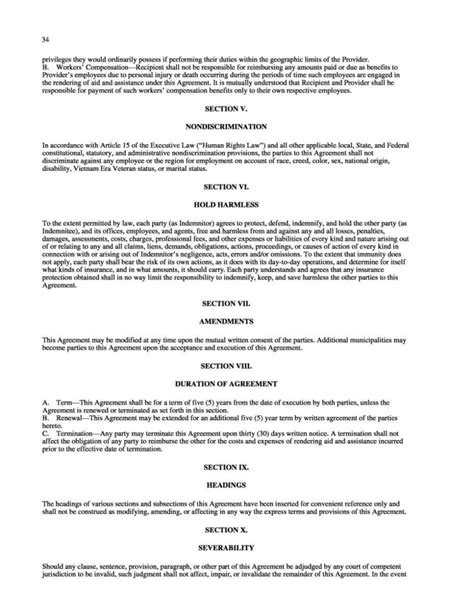 mutual aid agreement template sampletemplatess
