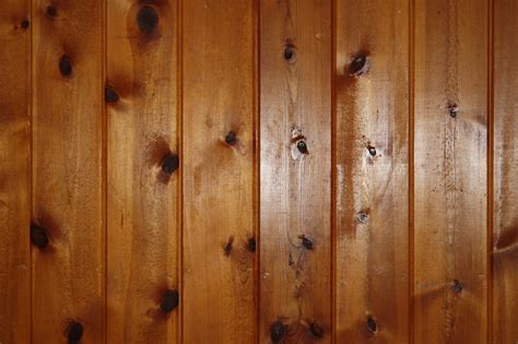 pine plank walls knotty pine wood wall paneling texture picture free photograph photos public domain