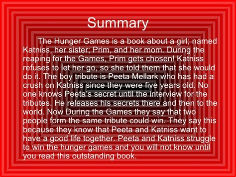 hunger games book review synopsis invest