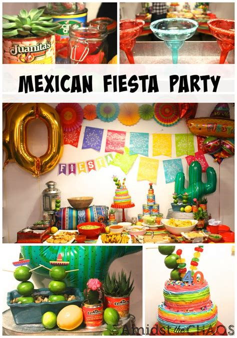 A Mexican Fiesta Surprise 40th Birthday Party  Amidst The