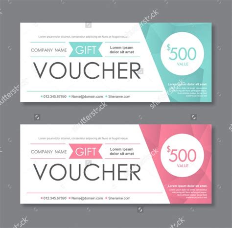 template gift certificate examples