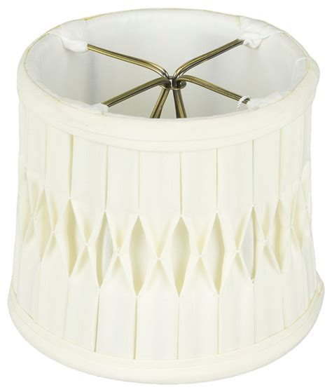 monter lite mini drum with smoked pleat clip on shade