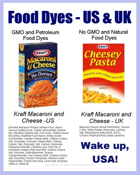 cuisine kraft kraft macaroni and cheese monterey bay holistic alliance