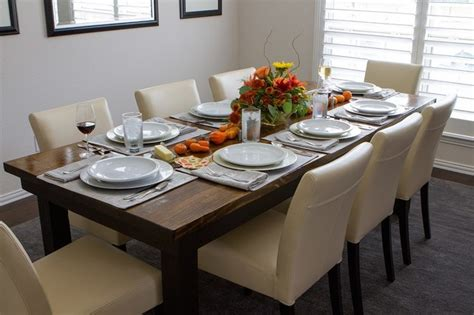 8 farmhouse table contemporary dining tables other