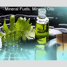 Guidelines To Export Mineral Fuels, Mineral Oils