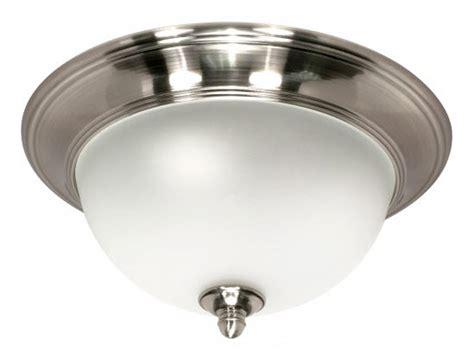 palladium small flush mount light fixture with smoked