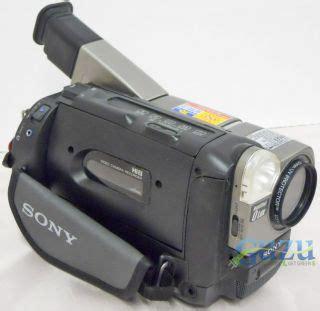 camescope sony hi8 ccd tr2000e vhs mini dv recorder zoom