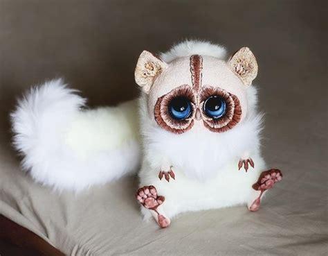 santani realistic handmade creatures feather