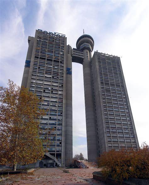 Genex Tower Belgrade Serbia Socialist Brutalism